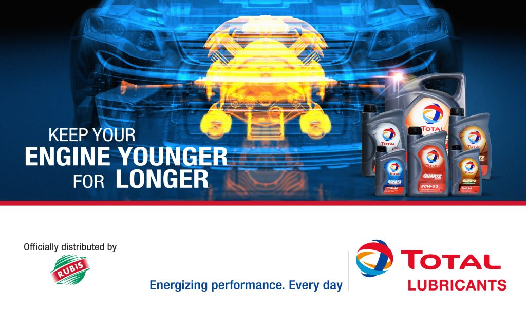 Total Lubricants Banner